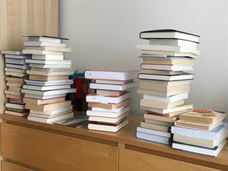 wie werde ich glücklich - haufenweise Bücher lesen